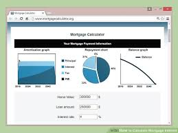 Estimate Mortgage Rate by 3 Ways To Calculate Mortgage Interest Wikihow