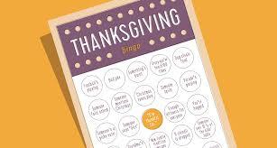 the paper boutique thanksgiving bingo