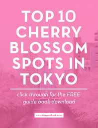 spring in japan free e book top 10 cherry blossom spots in