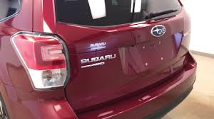 subaru forester red 2017 2018 subaru forester subaru of lethbridge youtube