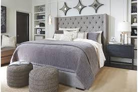 impressive grey headboard queen best ideas about grey upholstered