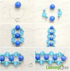 beaded bracelet pattern images Instructions on weaving s shaped beaded bracelet with turquoises jpg
