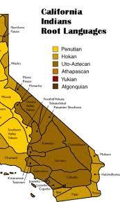 california map desert region california indian languages