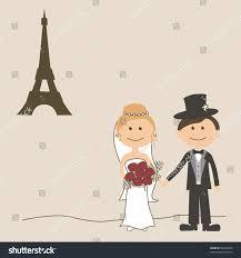 Groom And Groom Wedding Card Wedding Invitation Card Funny Bride Groom Stock Vector 82363696