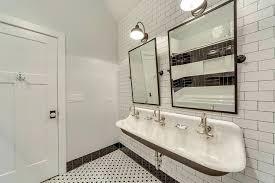 bathroom trough sink trough sinks double undermount trough