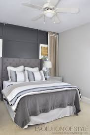 Masculine Grey Bedroom One Room Challenge Reveal Day Evolution Of Style