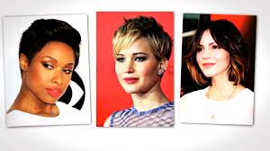 hair styles with ur face in it the best short hairstyles for your face shape