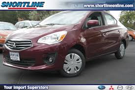 mitsubishi mirage sedan featured new subaru hyundai mitsubishi shortline auto group