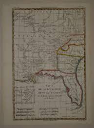 louisiana florida map 1780 genuine antique map louisiana florida carolinas