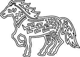 horse line art free download clip art free clip art on