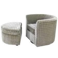 barrel chair with ottoman barrel chair with ottoman rustyridergirl