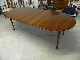 henkel harris solid wild black cherry dining table u2013 jenkins antiques