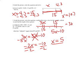 Segment Addition Postulate Worksheet Segment Addition Postulate Geometry Showme