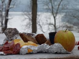 snack food for winter hikes cthikergal