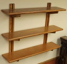 Wooden Wall Mounted Bookshelves by Amazon Com Adjustable Wall Mounted Bookshelf By Wooden You