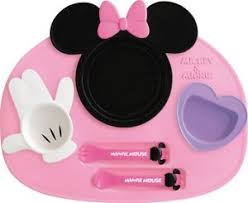 baby plates disney minnie mouse baby tableware dishes set 699234082564 ebay