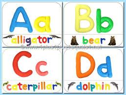 printable alphabet mat abc play dough mats 1 1 1 1