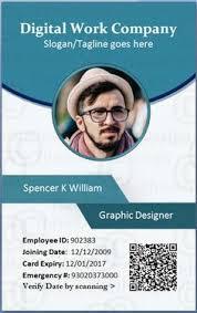 id card graphic design multipurpose office id card template psd card templates offices