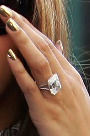 big jewelry rings images Elegant large emerald and diamond rings celebrity engagement rings jpg