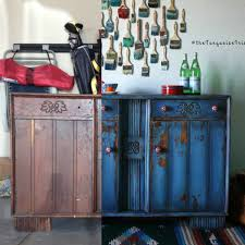 Repurposed Furniture Before And After by The Turquoise Iris Furniture U0026 Art February 2016