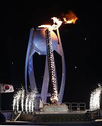 winter olympics 2018 lighting ceremony mocked as cauldron is