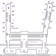 tulsa airport map terminal map tulsa international airport