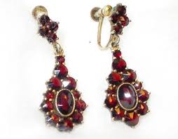 lost earrings lost one of my antique garnet earrings weddingbee