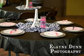 Hobby Lobby Paris Decor Black White And Pink Paris Party