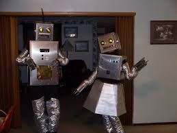 my robot costumes are for sale