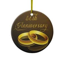 50th anniversary ornaments 20 best 50th wedding anniversary ornament images on