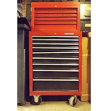 Cabinet Tools Craftsman 9 Drawer Rolling Tool Cabinet Upper Tool Box Tools Ebth