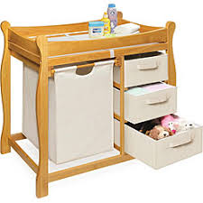 chagne baskets honey changing table with and three baskets home