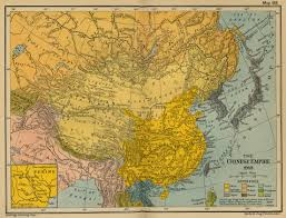 Chinese World Map by Historical Maps Of China