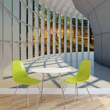 Forest Mural by Wall Mural Photo Wallpaper Xxl View Modern Hall Forest Sunset