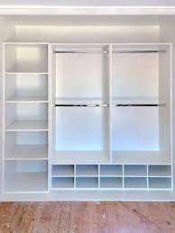 Wardrobe Cabinet With Shelves Best 25 Wardrobe Storage Ideas On Pinterest Dressing Rooms