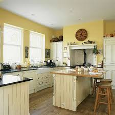 Yellow Kitchen Cabinets What Color Walls Charming Yellow Kitchen Cabinets How About Kitchens Painted