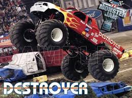 monster truck destroyer shirt iron transfer decal 7 monster