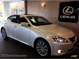 black lexus 2008 2008 lexus is 250 awd in starfire white pearl 023135
