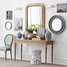 Blue Entryway Table by Golden Key Console Wisteria