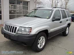 dark gray jeep grand cherokee 2004 jeep grand cherokee laredo 4x4 in bright silver metallic