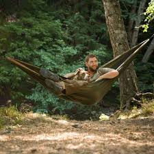grand trunk parachute nylon hammock at brookstone u2014buy now