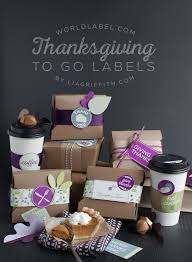 thanksgiving labels for to go boxes and leftovers worldlabel
