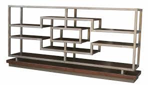 mid century modern console bookcase casablanca u2013 mortise u0026 tenon