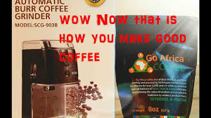 Mr Coffee Burr Mill Grinder Review Secura Scg 903b Automatic Electric Burr Coffee Grinder Mill Youtube