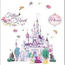 disney princess castle with princesses peel stick mural dmm2503 disney princess castle with princesses peel stick mural dmm2503