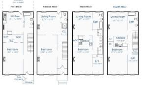 brownstone floor plans awesome 24 images brownstone house plans home plans blueprints