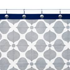 Jonathan Adler Curtains Designs Jonathan Adler Grey Navy Shower Curtain Home Sweet