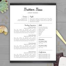 A Teacher Resume Examples by 37 Best Resume Templates Images On Pinterest Cover Letter