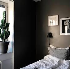 Chambre Mur Et Noir Osez Le Noir Et Le Gris Anthracite Dans La Chambre à Coucher