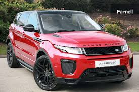 range rover pink used land rover range rover evoque 2 0 td4 hse dynamic lux 5dr